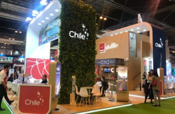 Stand de Chile en Fitur