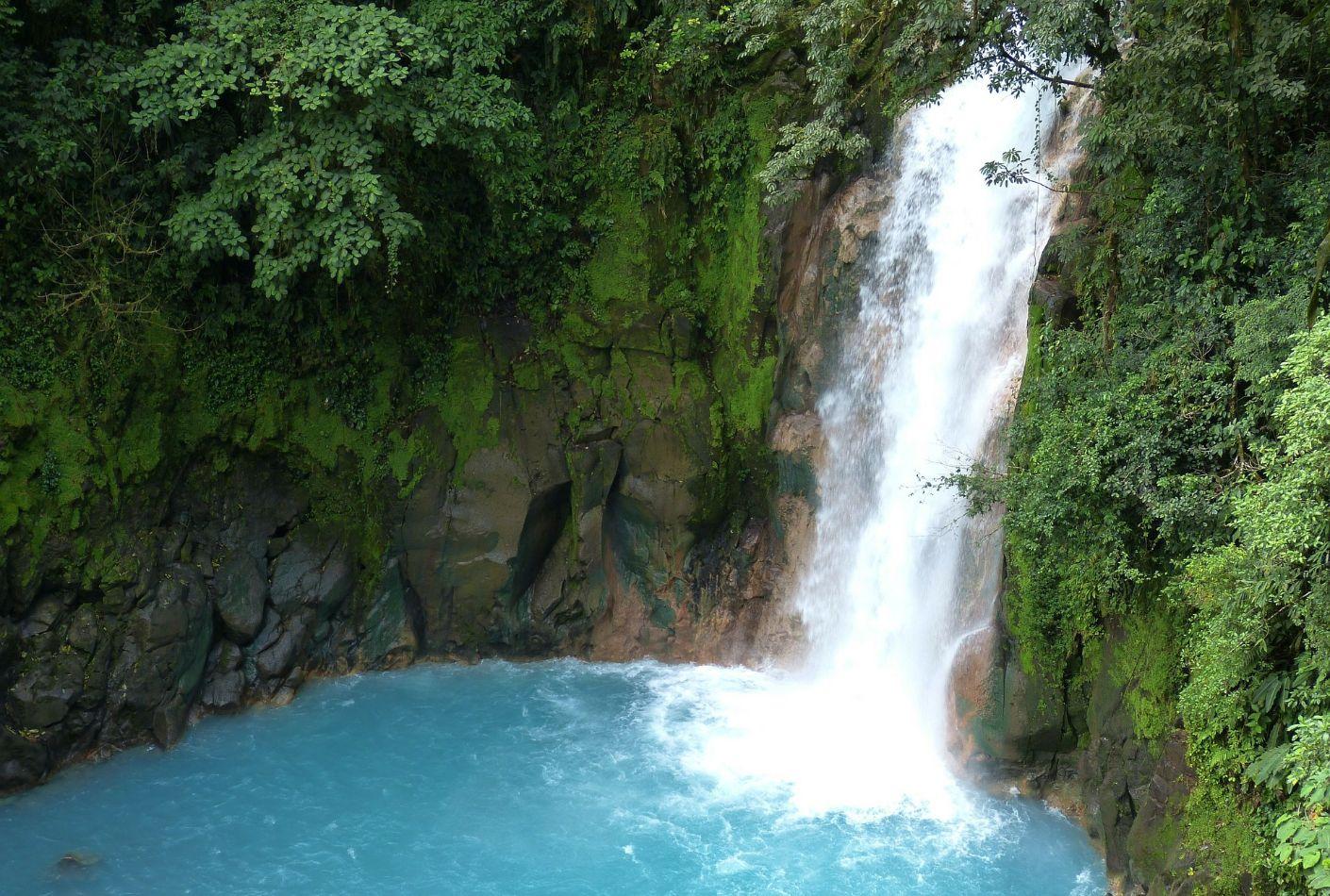 Cascada de Costa Rica