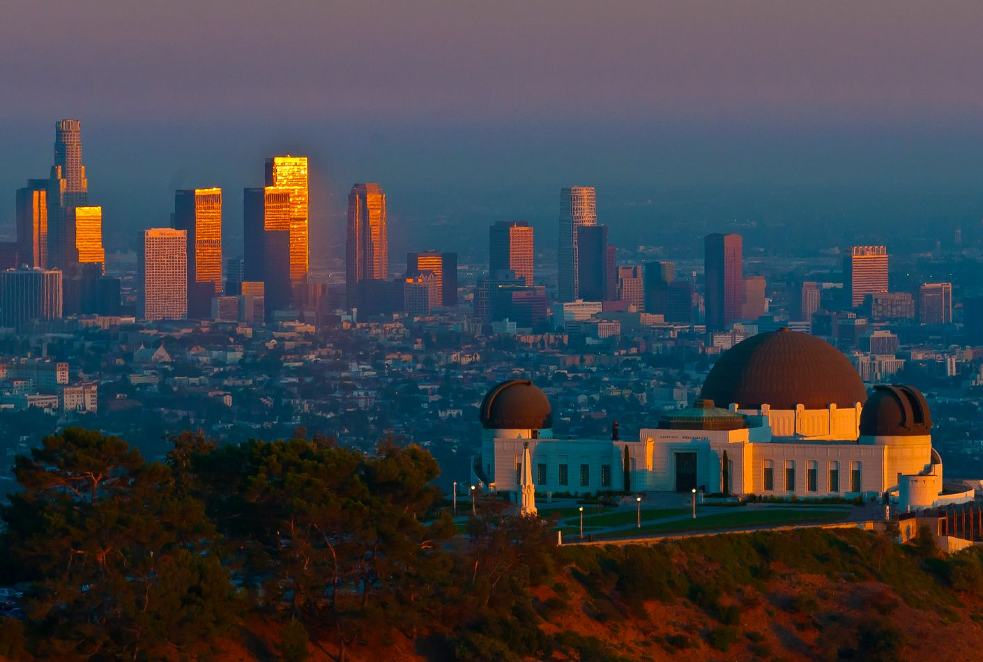 Observatorio de Griffith y Los Angeles. Oferta viaje Estados Unidos.