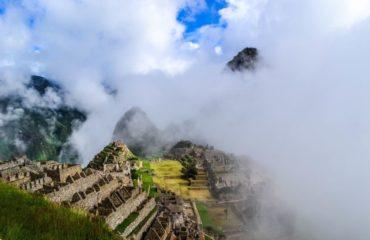 Machu Picchu niebla