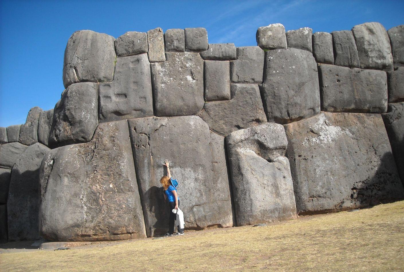 Rocas gigantes de Sacsayhuamán