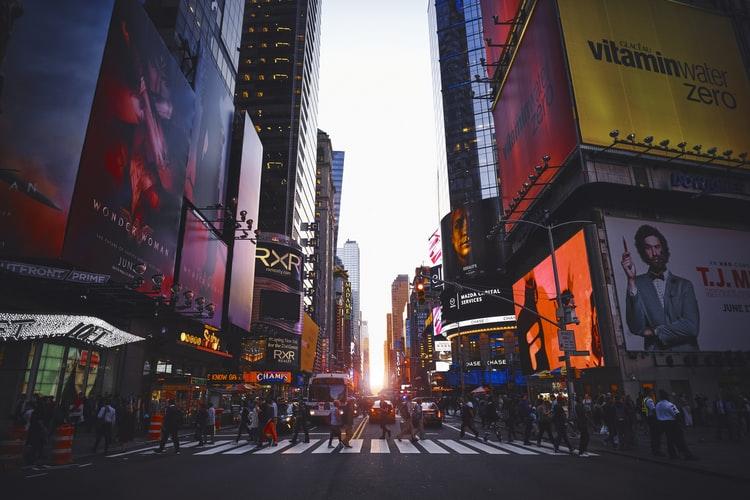 Visitar Times Square