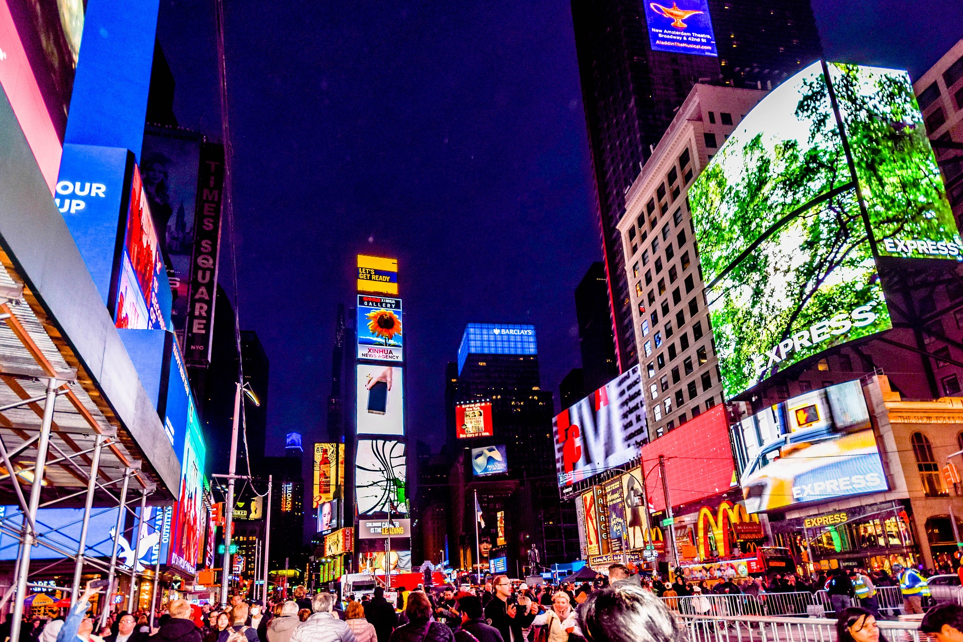 Nochevieja en Times Square