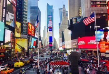 Celebra la Nochevieja en Times Square