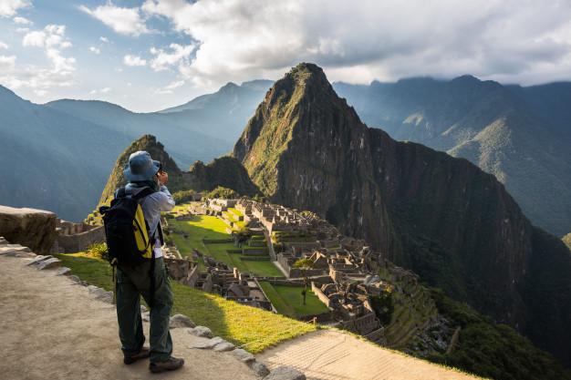 Imagina Machu Picchu