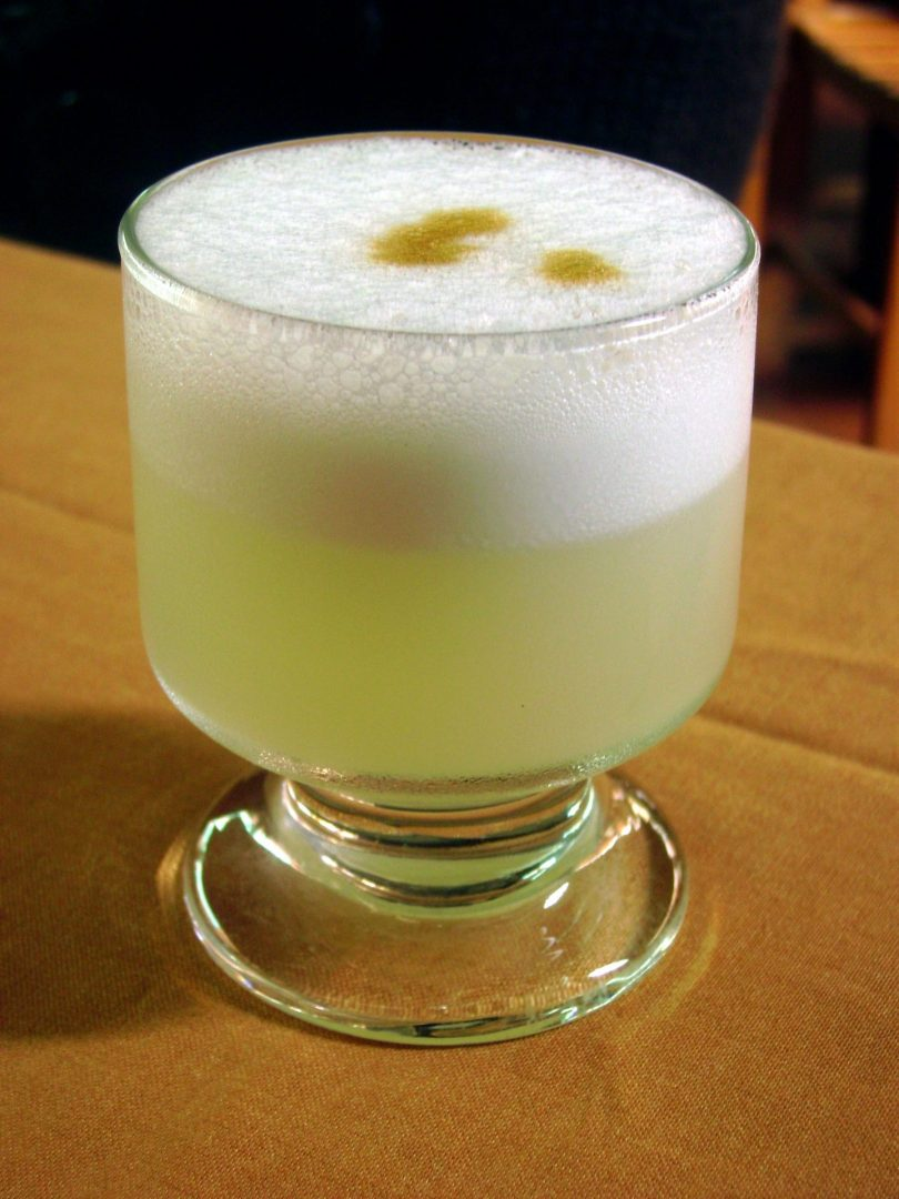 Bebida nacional de Chile, el pisco sour