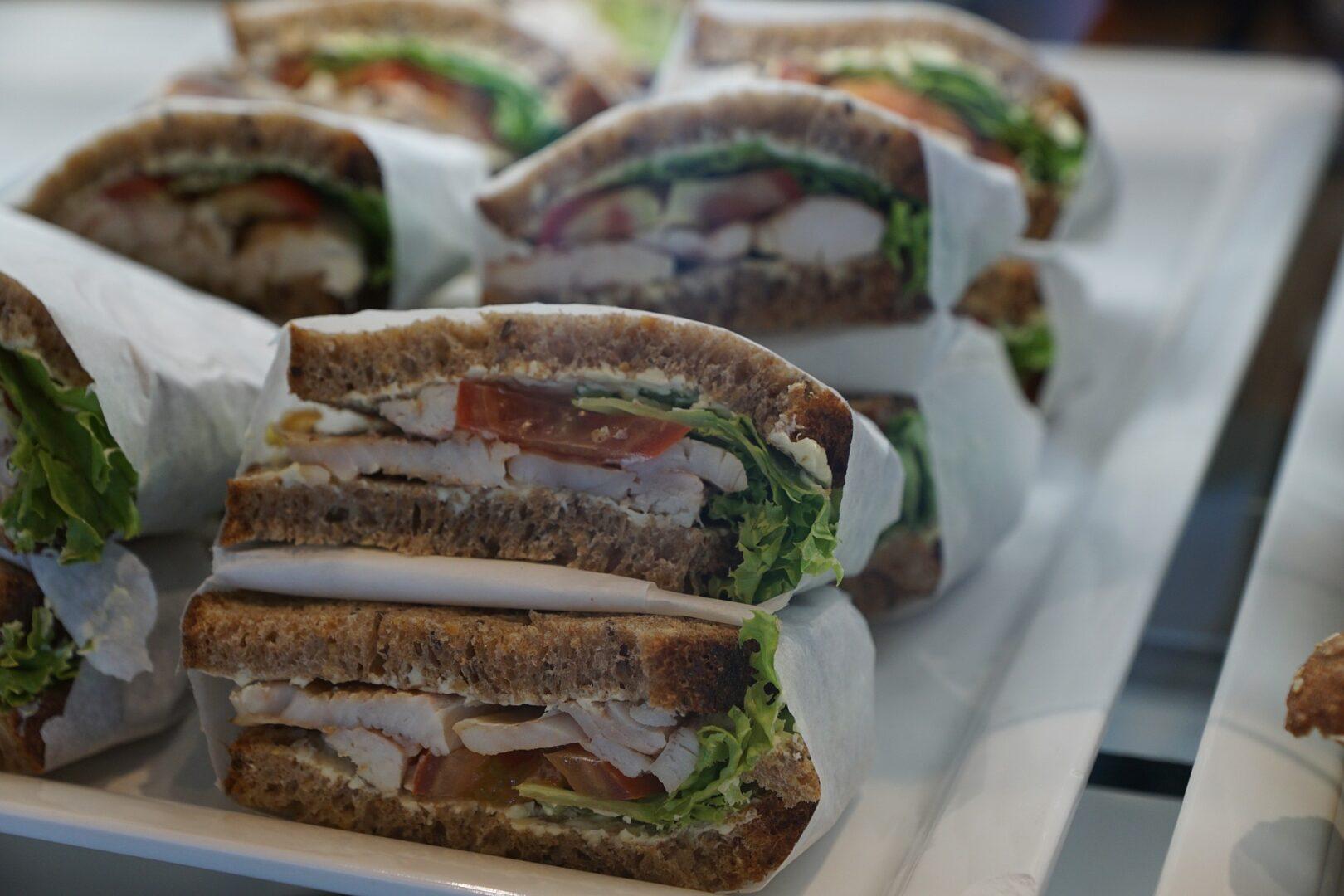 Comida: un sandwich o bocata cubano